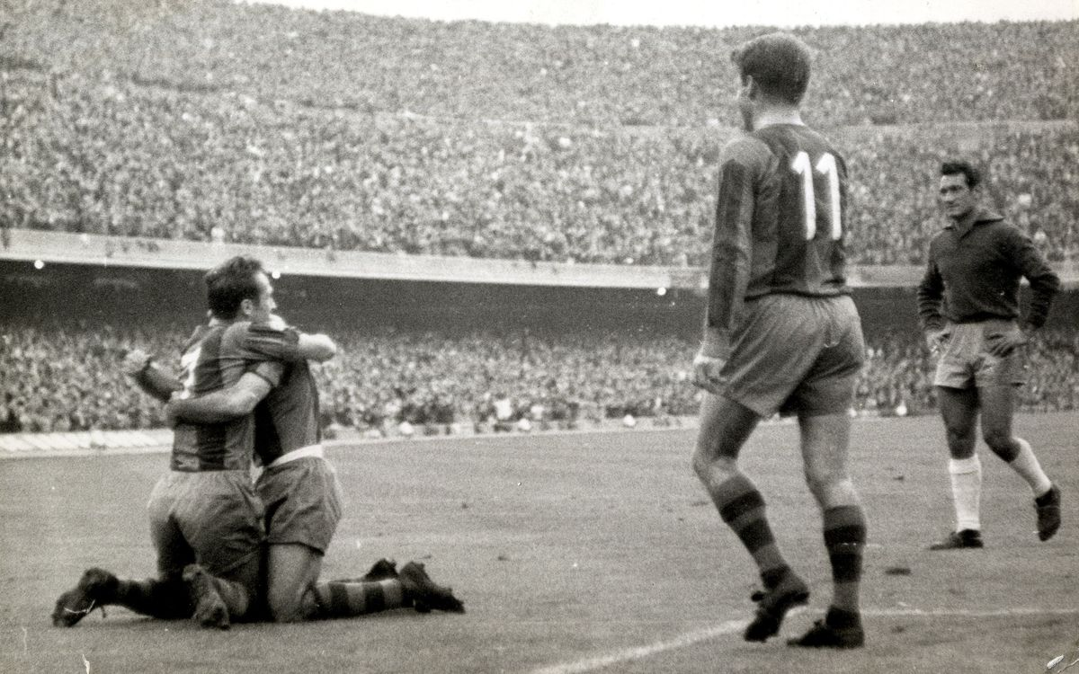 The other clásico on October 26: Barça beat Real Madrid 4-0 in 1958