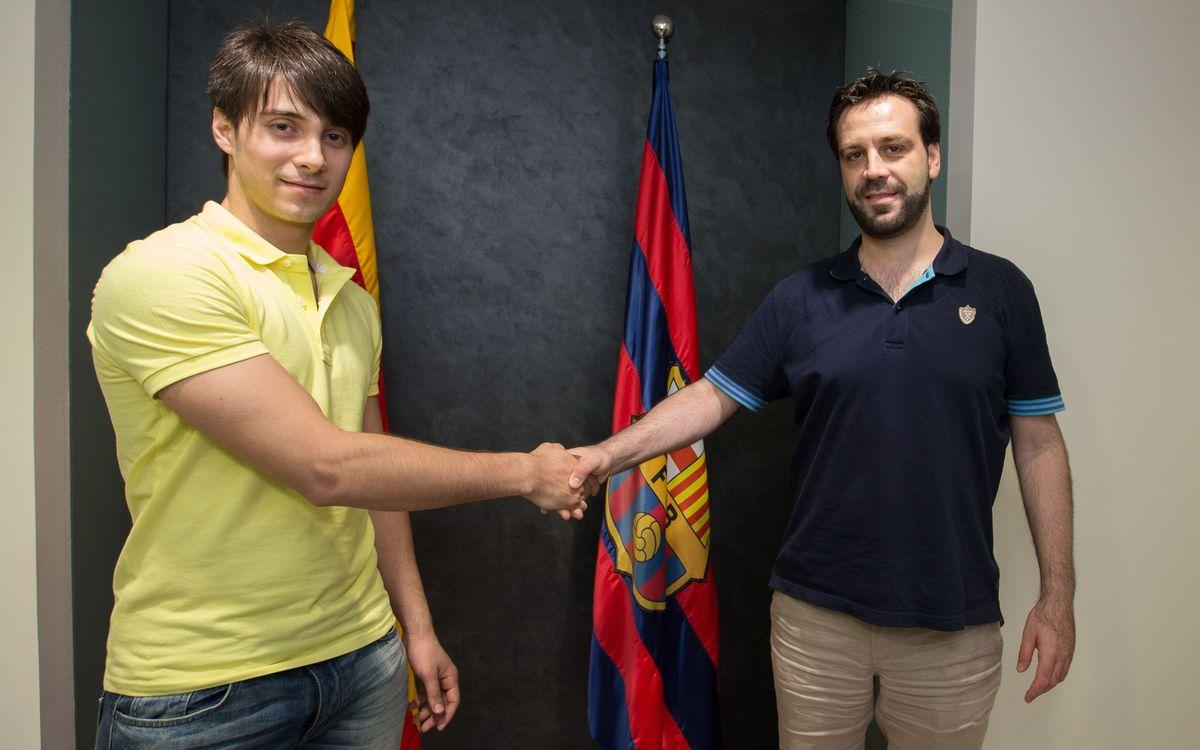 El FC Barcelona fitxa Matías Pascual