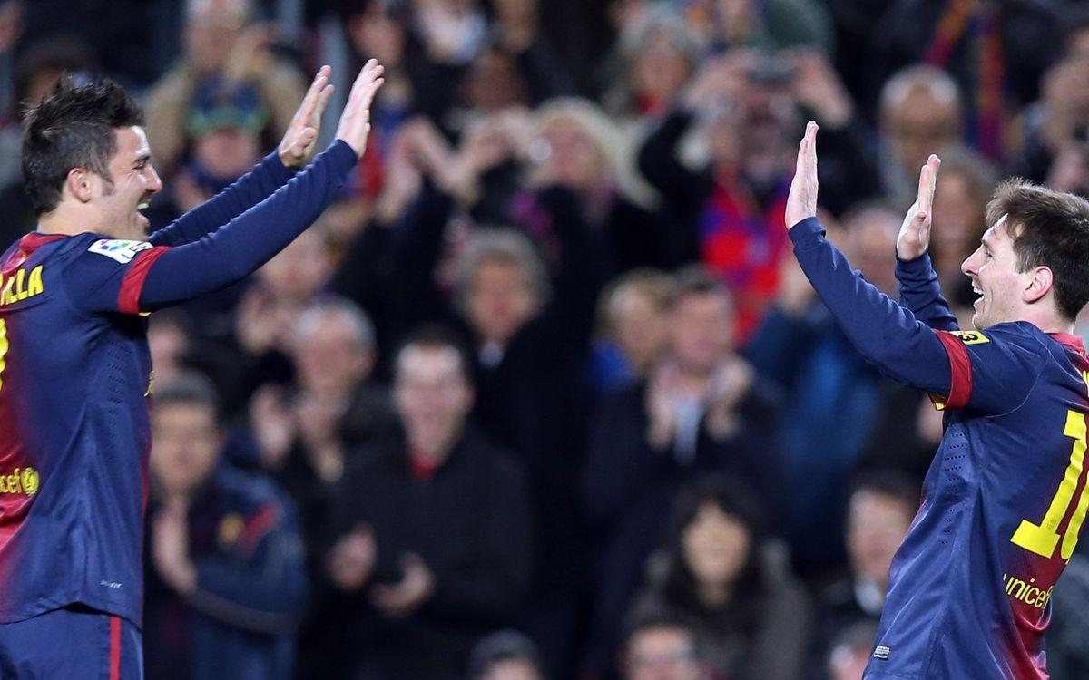 Barça top European scoring
