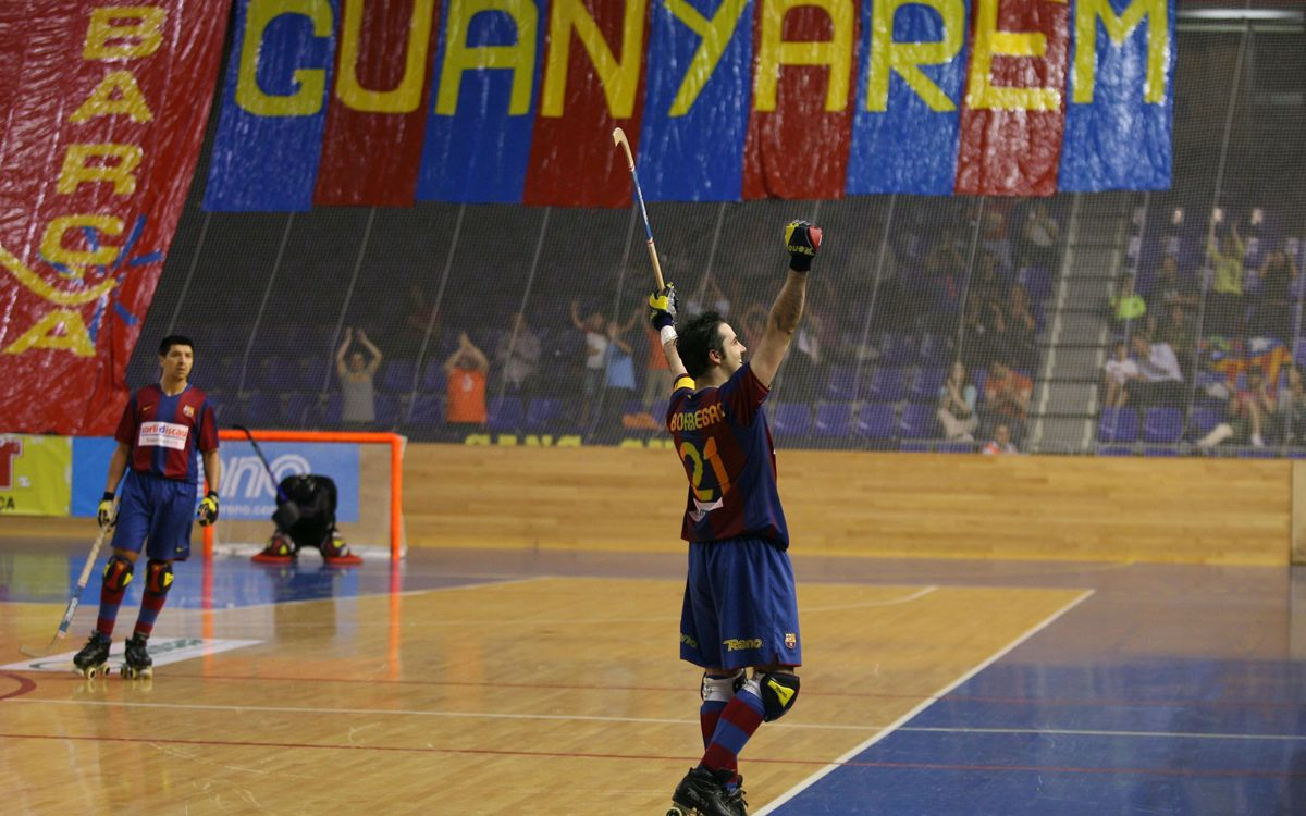 Borregán's number to be retired on the 4th or 5th of May