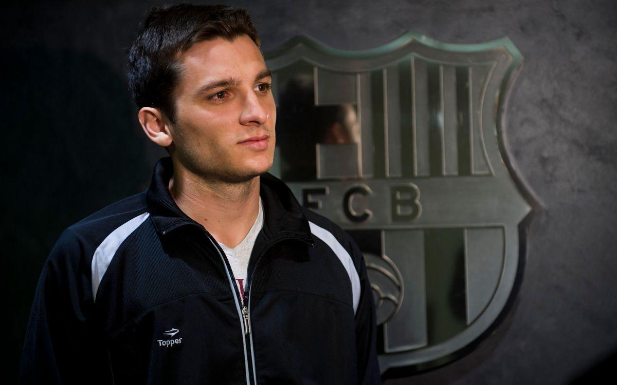 El brasiler Dyego, nou reforç del Barça Alusport fins al juny del 2016
