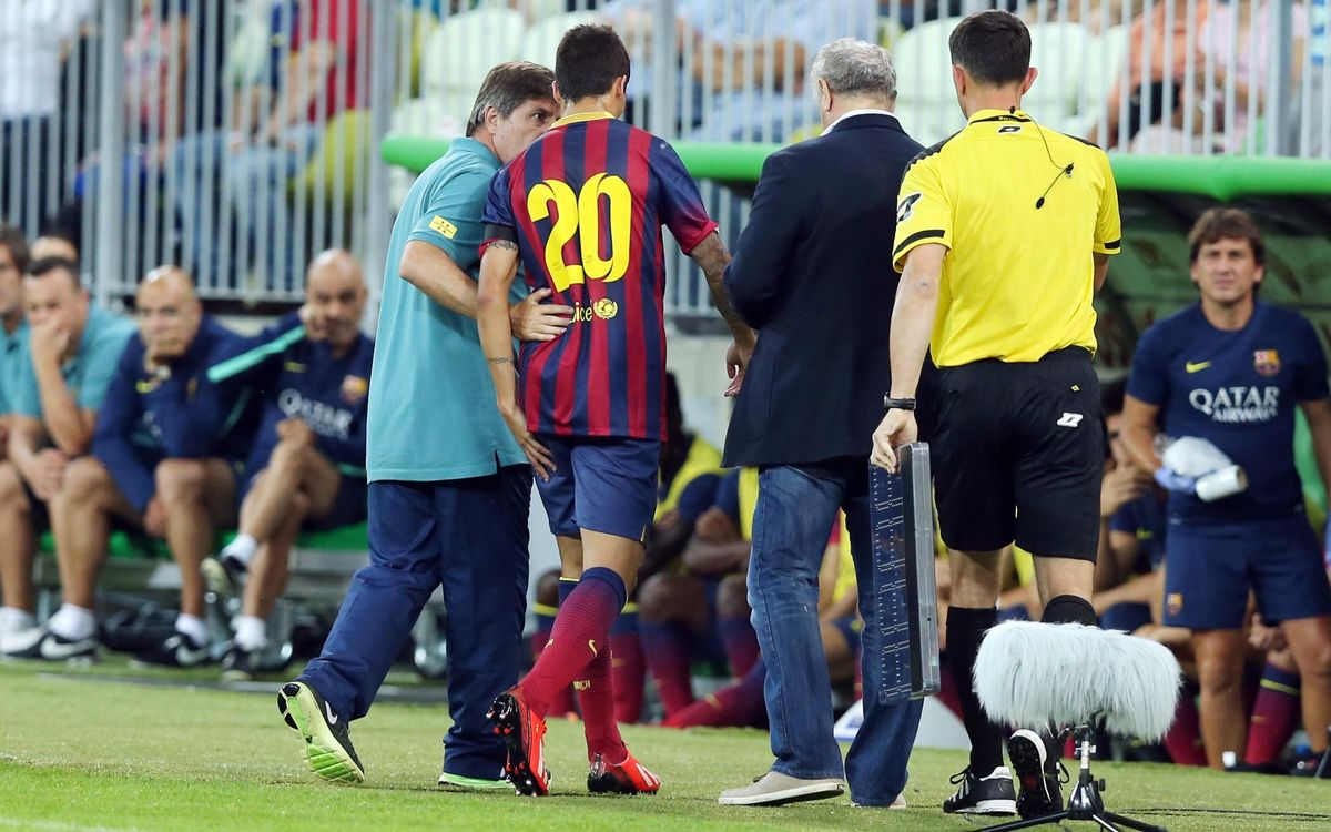 Cristian Tello sustains hamstring injury, won't feature in the Gamper