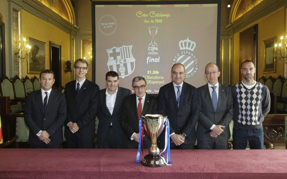 Cardoner attends Catalunya Cup final presentation