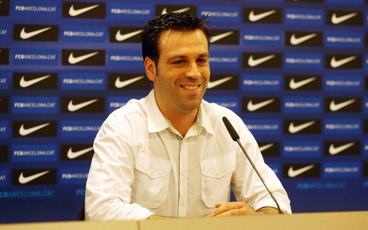 Ricard Muñoz, optimista i amb respecte davant el debut a la F4