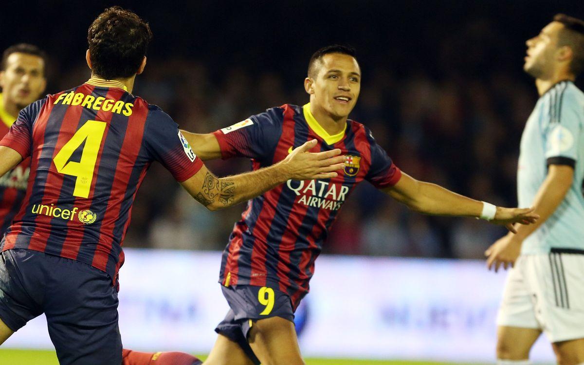 Celta de Vigo-FC Barcelona: I tres més (0-3)