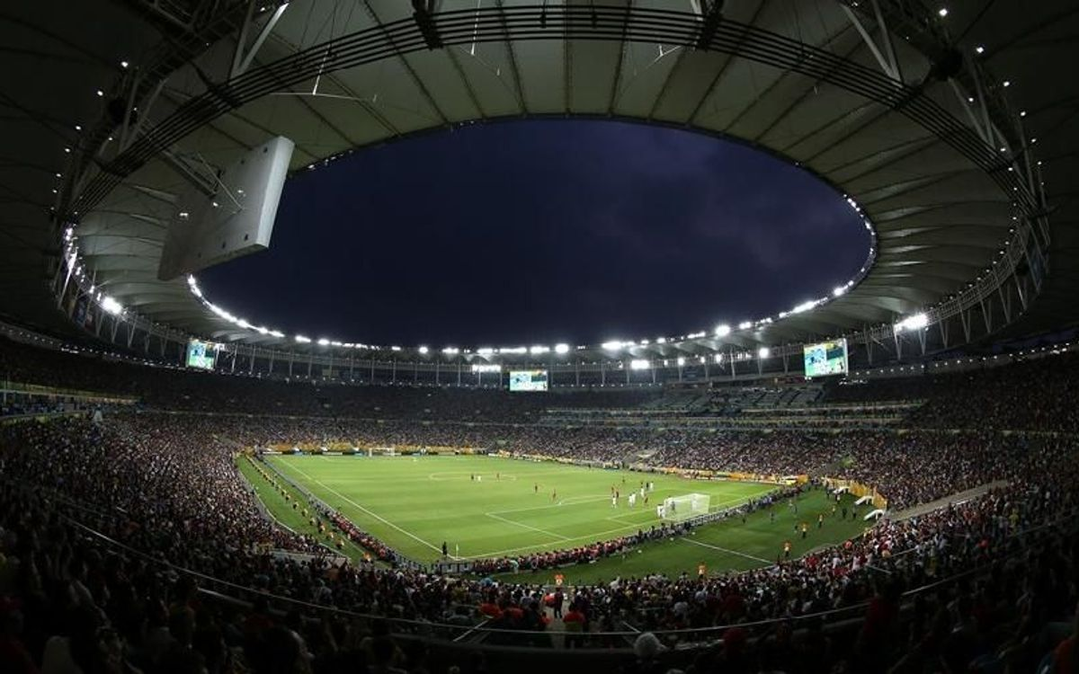 Une finale blaugrana a Maracana