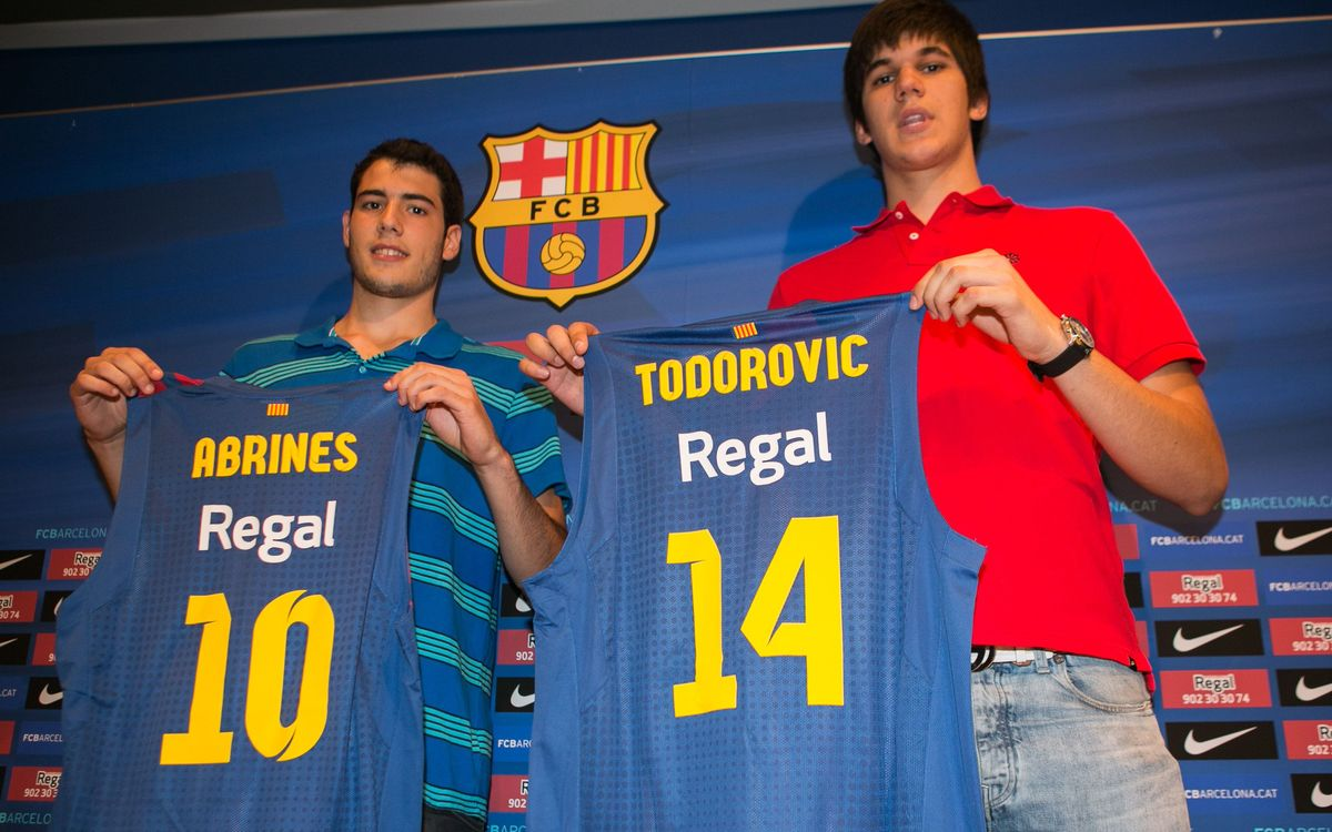 Álex Abrines and Marko Todorovic, second round picks in NBA Draft