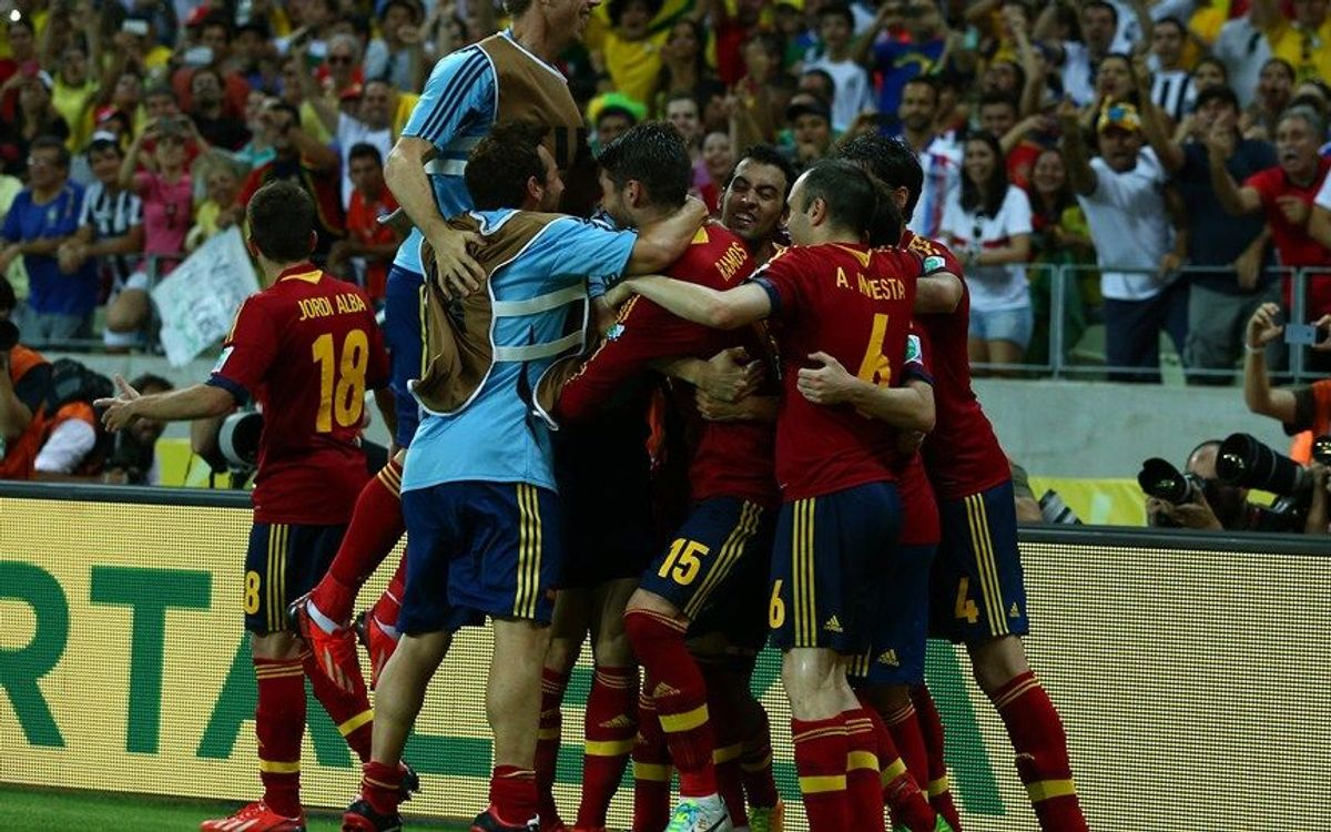 Spain through to the final on penalties (0-0; 7-6)