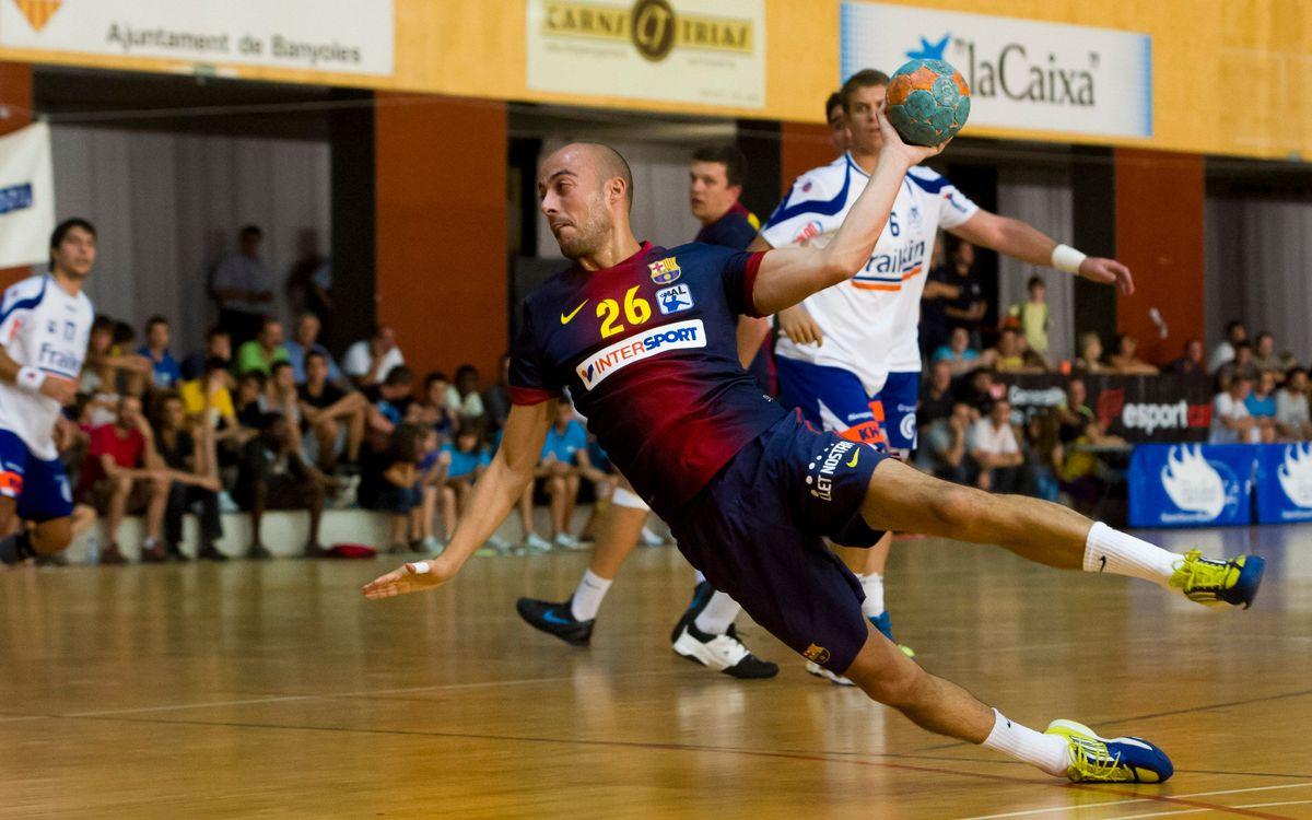 FC Barcelona Intersport, no val a badar