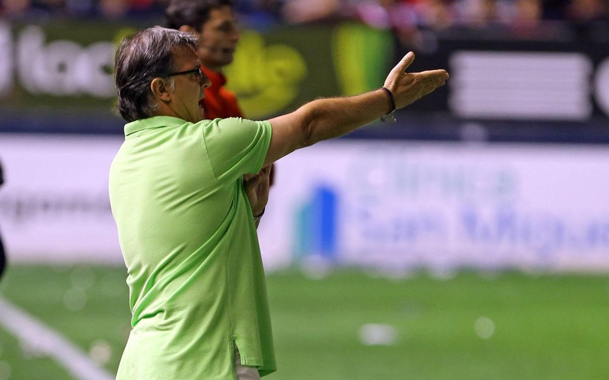 "Gerardo Martino: ""We weren't accurate in front of goal"""