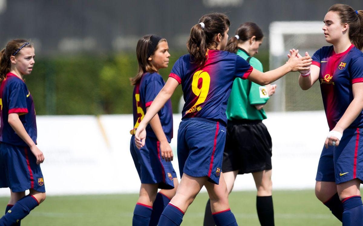 El Femenino Infantil - Alevín, campeón del 45º Torneo Internacional Sant Gabriel Cup 2013