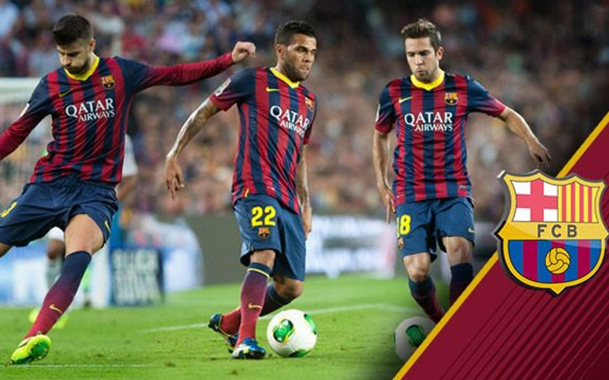 Jordi Alba, Alves and Piqué nominated defenders for FIFA FIFPro World XI