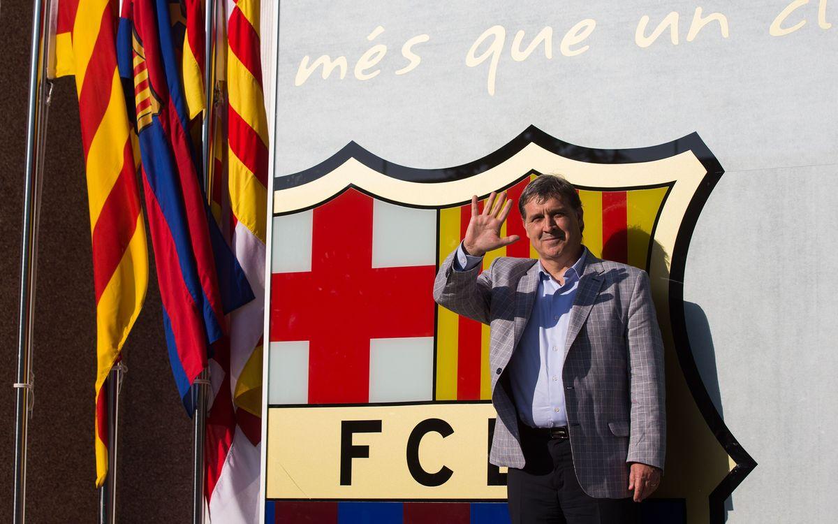 Gerardo 'Tata' Martino est à Barcelone