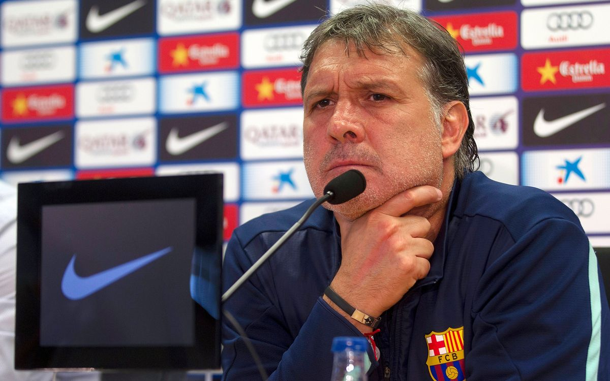 Gerardo Martino confident in strength of Puyol's spirit