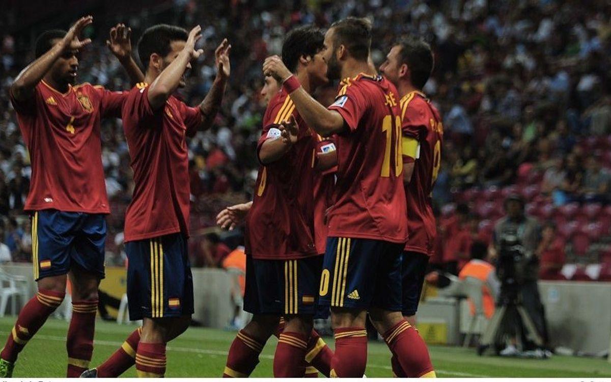 U20 Spain win without Deulofeu (2-1)