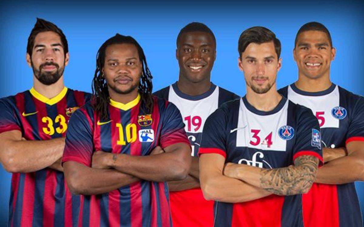 PSG Handball v FC Barcelona: French connection