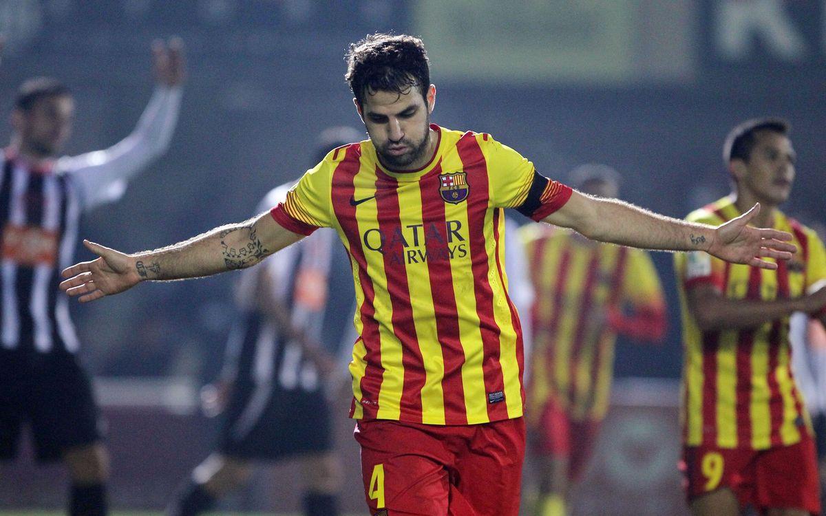 Cesc Fàbregas, golejador en les tres competicions