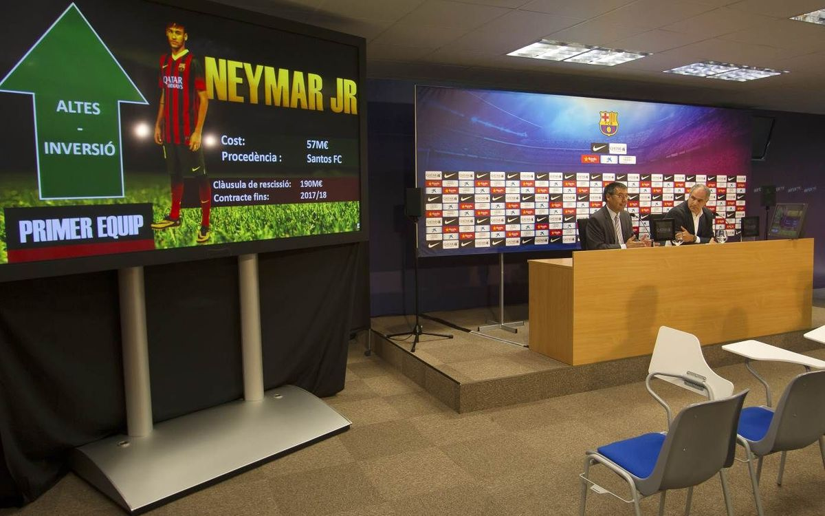 Bartomeu and Zubizarreta's full press conference