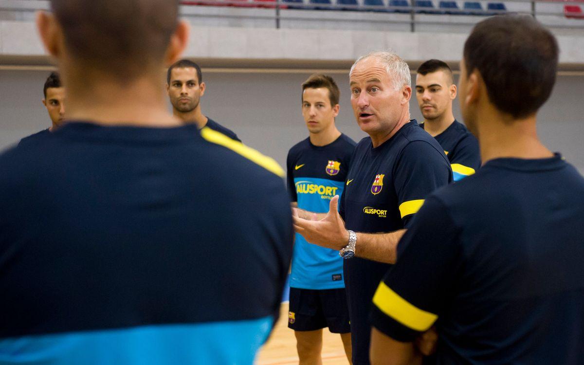 La pretemporada del Barça Alusport, al detall