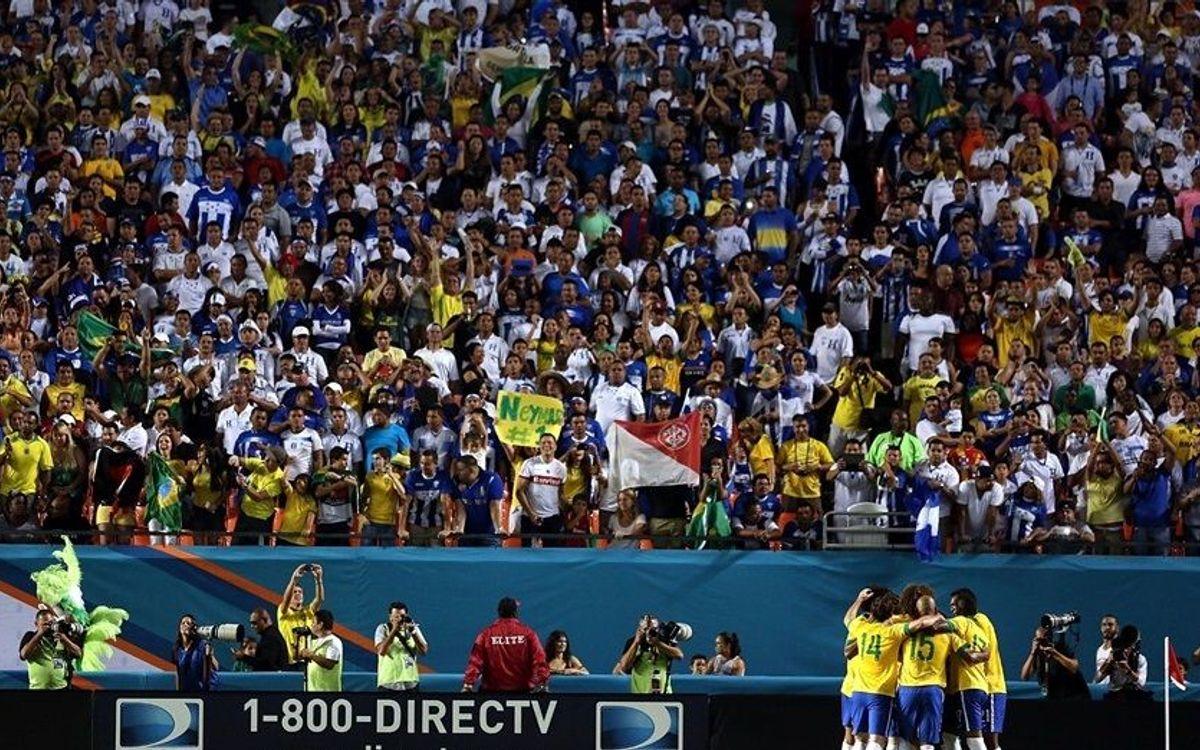 Neymar helps Brazil to victory over Honduras (5-0)