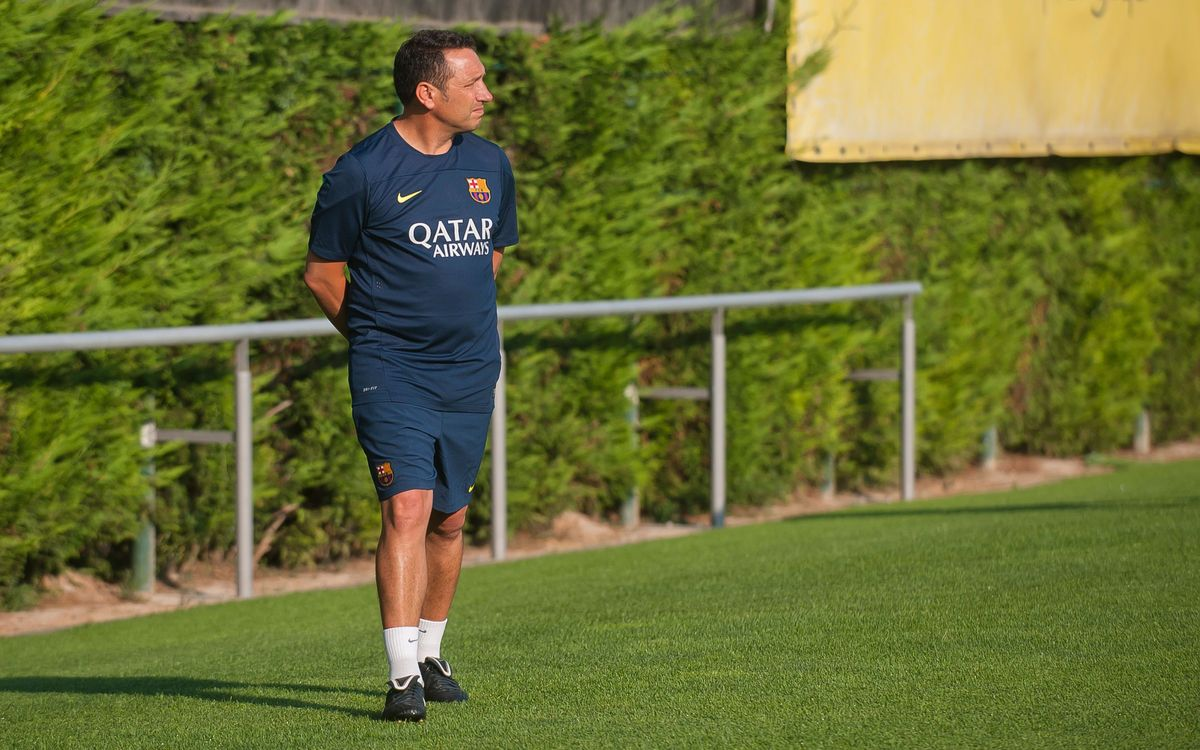 "Eusebio Sacristán: ""Our challenge is to compete at the highest level"""