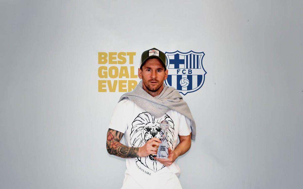 El gol de Messi al Getafe, el mejor de la historia del Barça según los fans