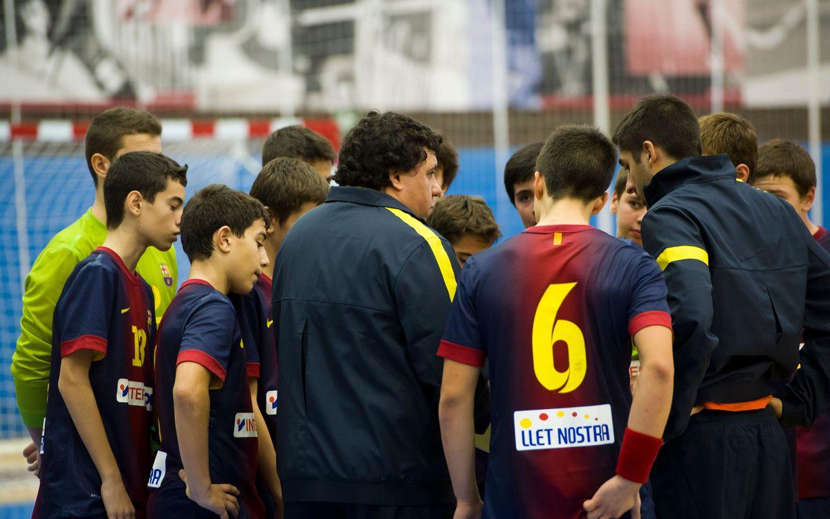 El balanç de l'handbol formatiu del FC Barcelona