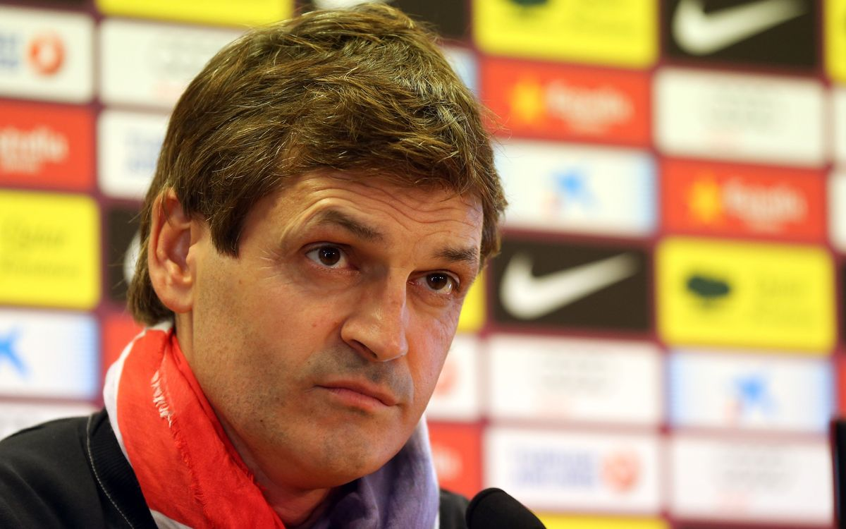 Review Tito Vilanova and Andoni Zubizarreta press conference