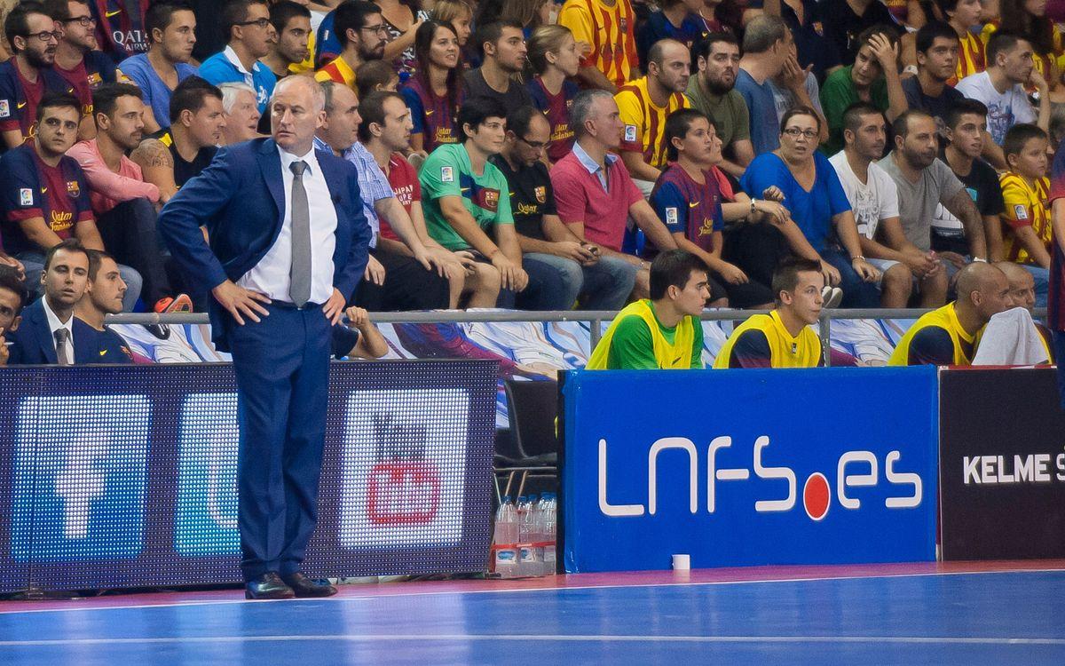 """Marc Carmona: """"Aquest equip ha estat el dominador perquè s'ho ha guanyat a la pista"""""""