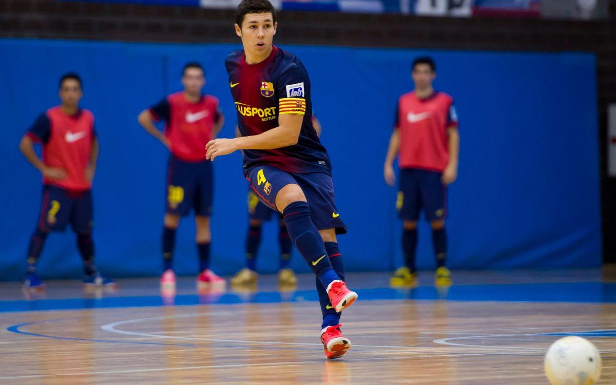 Roger Serrano, jugador del Barça Alusport, cedit al Ríos Renovables
