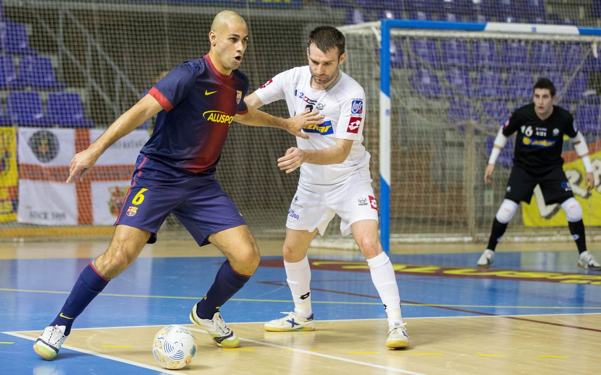El Barça Alusport vol seguir en la bona línia