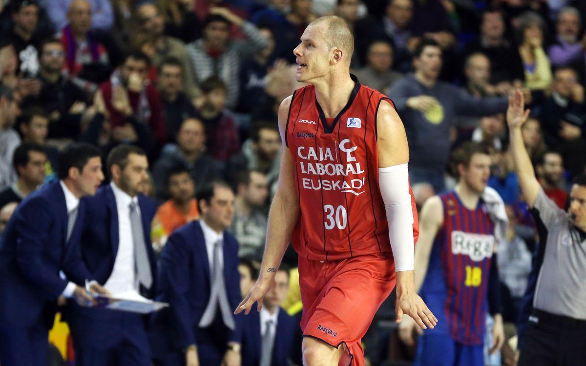 Maciej Lampe, quarta incorporació per al Barça de bàsquet