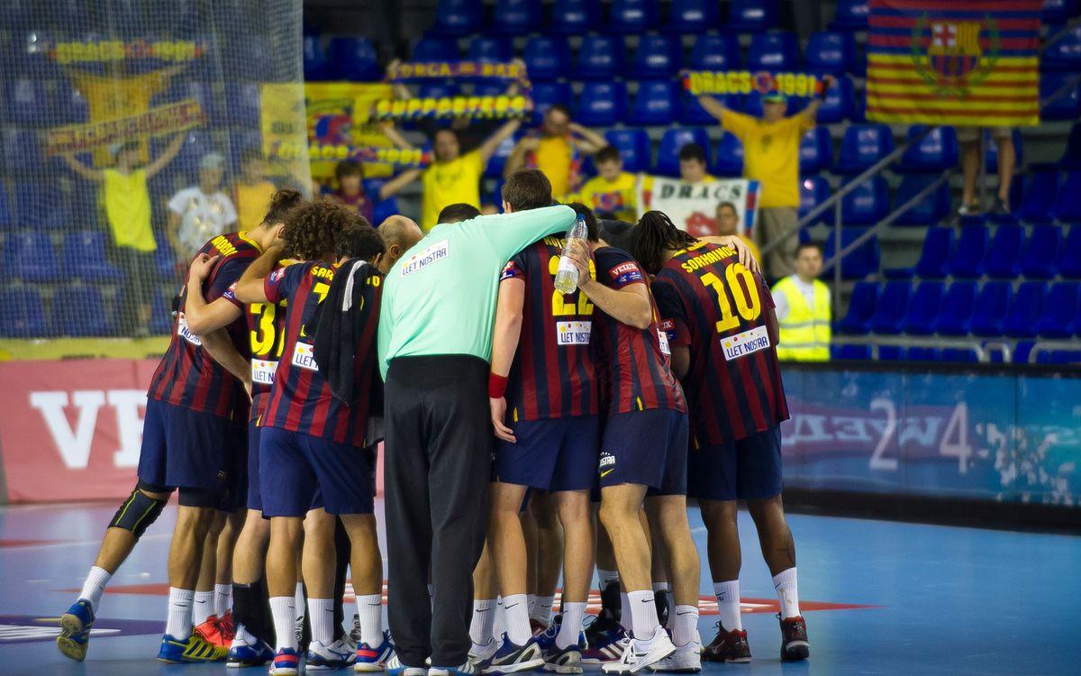 FC Barcelona – Wacker Thun: Record Win (45-26)