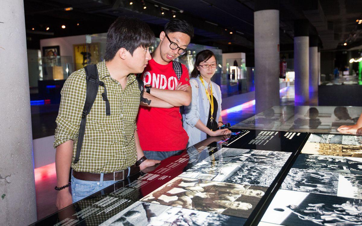 El viatge dels fans xinesos de Catalunya Turisme finalitza al Camp Nou Experience