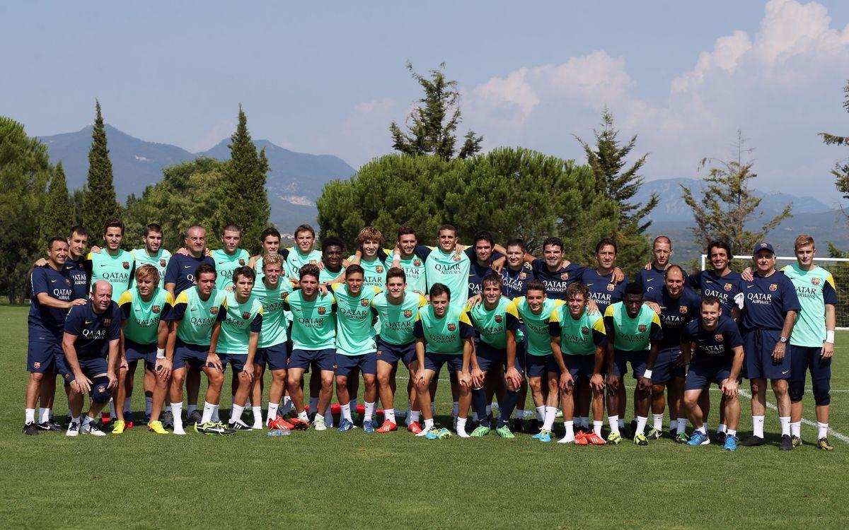 El Barça B torna aquest divendres de Torremirona