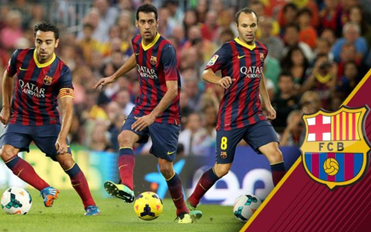 Sergio, Xavi and Iniesta nominated for FIFA FIFPro World XI midfield