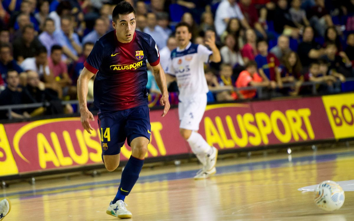 Eric Martel renova fins al 2017 amb el Barça Alusport
