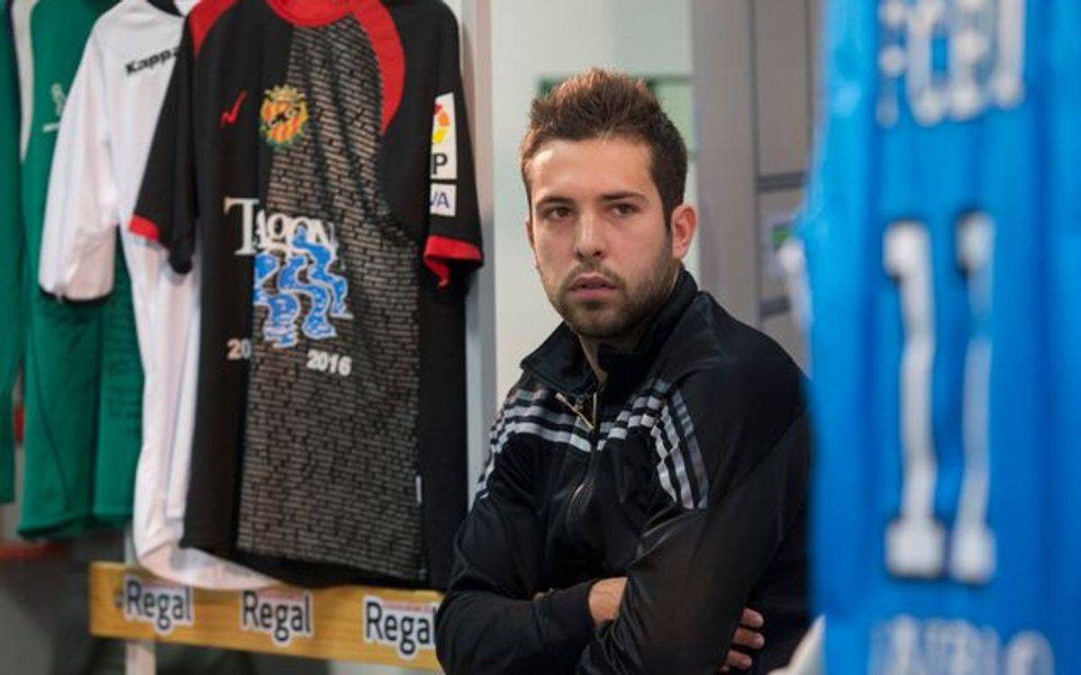 "Jordi Alba: ""I'm feeling better now"""