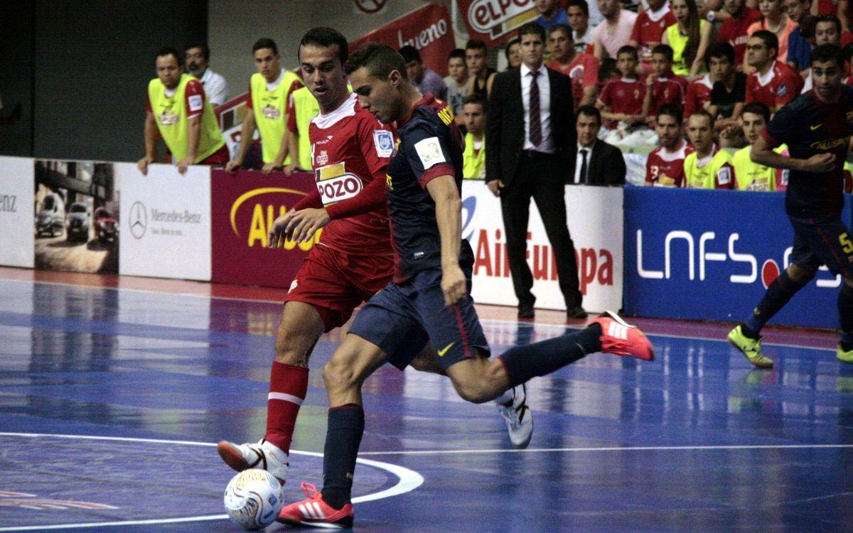 ElPozo Murcia – FCB Alusport: Barça earn a shot at the title (3-6)