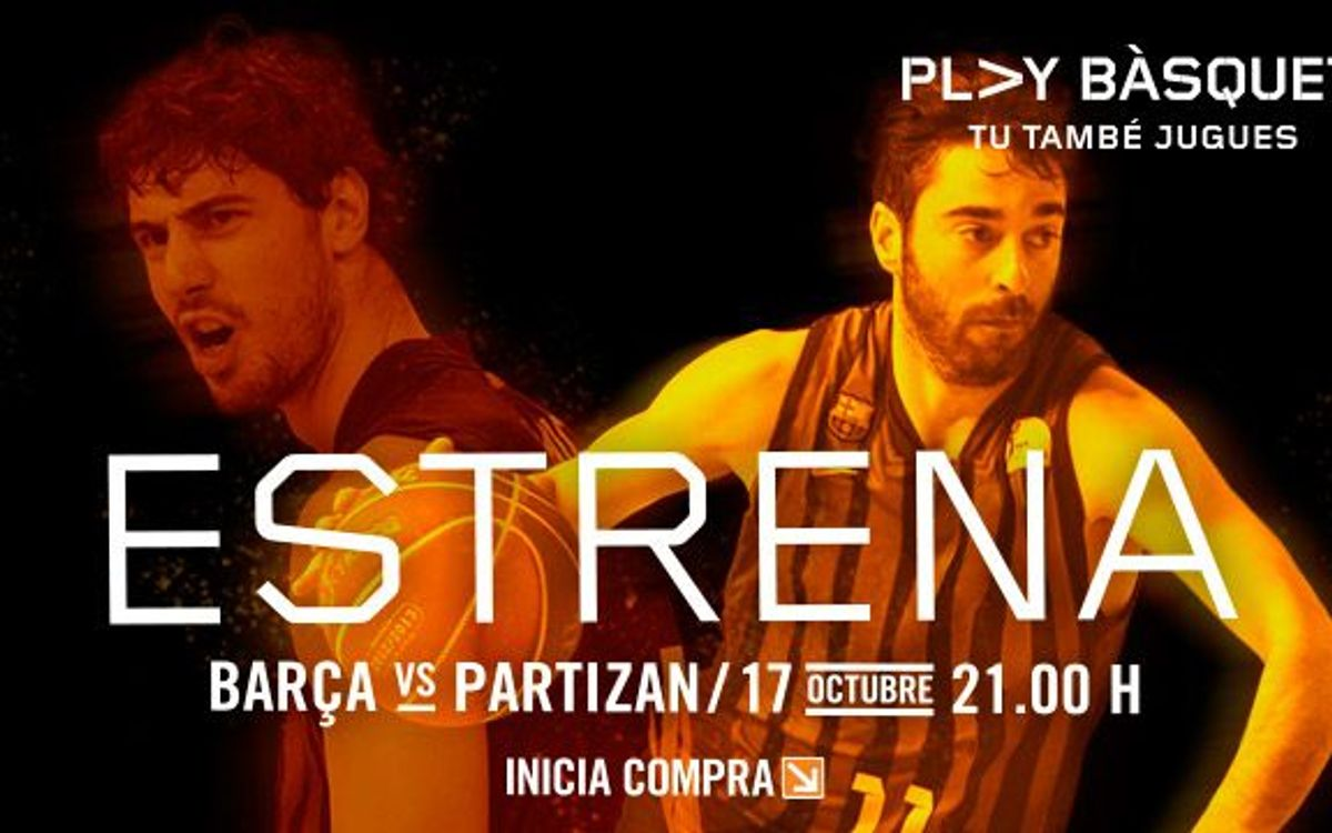 Barça open Euroleague against young Partizan Belgrade