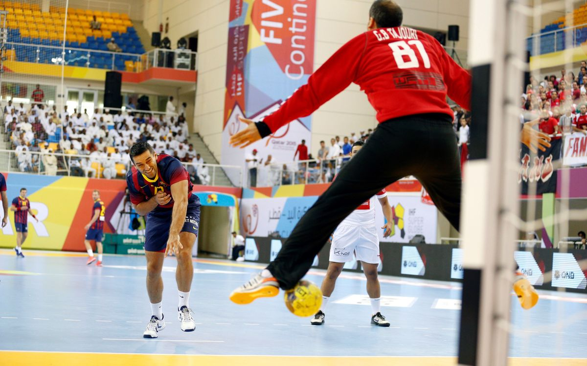 Road to Cologne begins for Barça handball