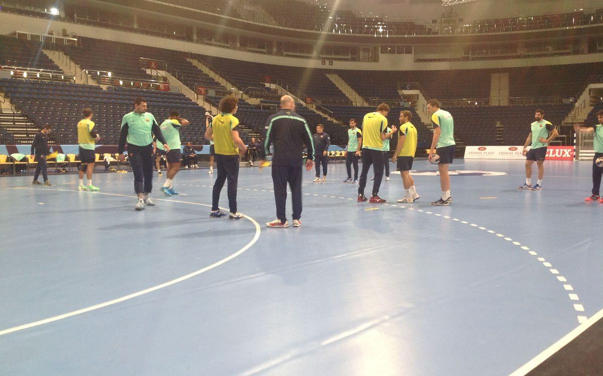 Un dia a Minsk amb el FC Barcelona d'handbol