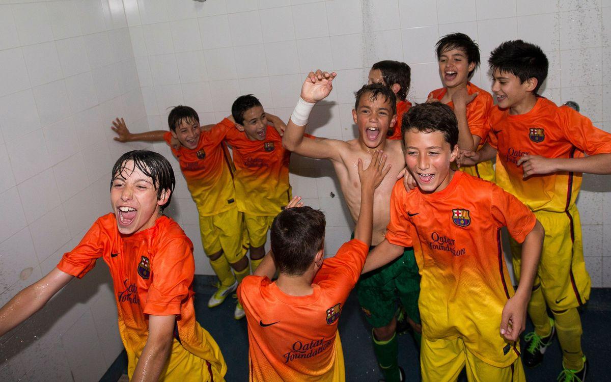 L'Aleví A, campió de Lliga!