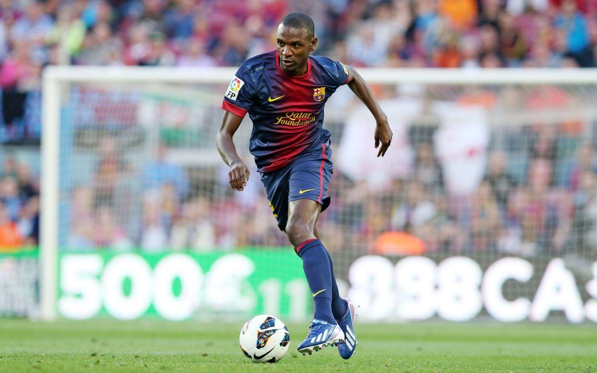 FC Barcelona communiqué on Éric Abidal