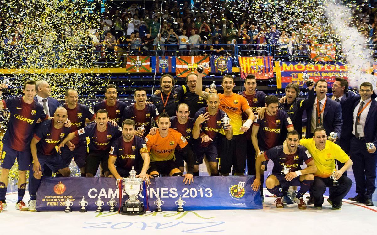 El Barça Alusport s'estrenarà el proper 5 de novembre a la Copa del Rei davant el Fonomonos Gomerón