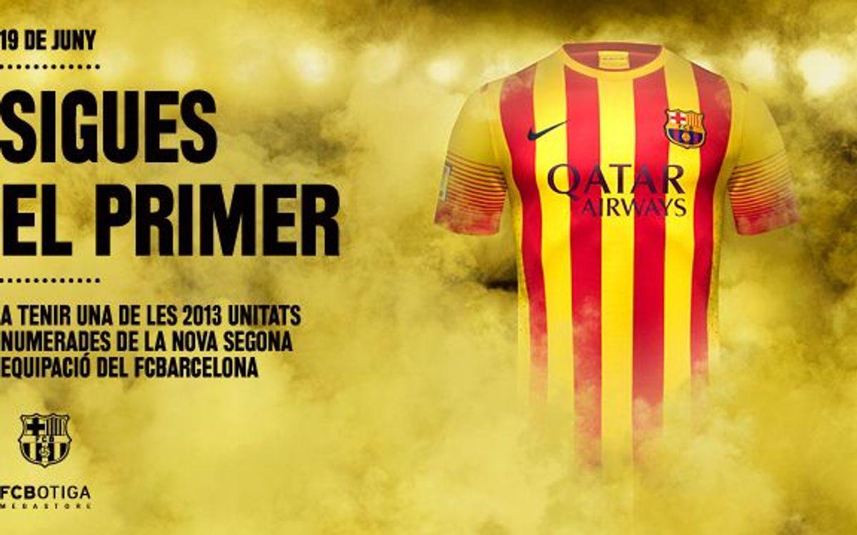 Venda exclusiva de la segona equipació del FC Barcelona