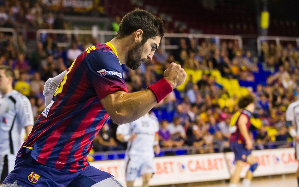 FC Barcelona - Helvetia Anaitasuna: El líder no afluixa (34-23)