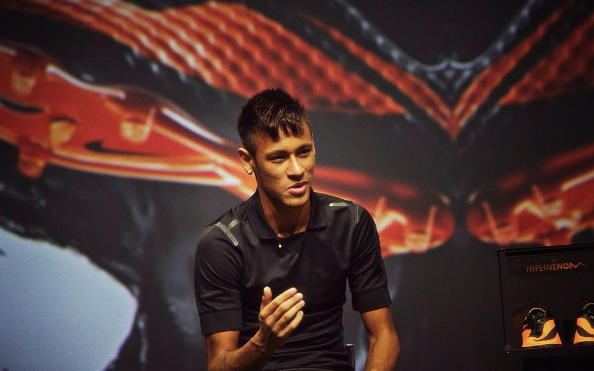 Next Live Streaming! Neymar's Day in Barcelona on www.fcbarcelona.com