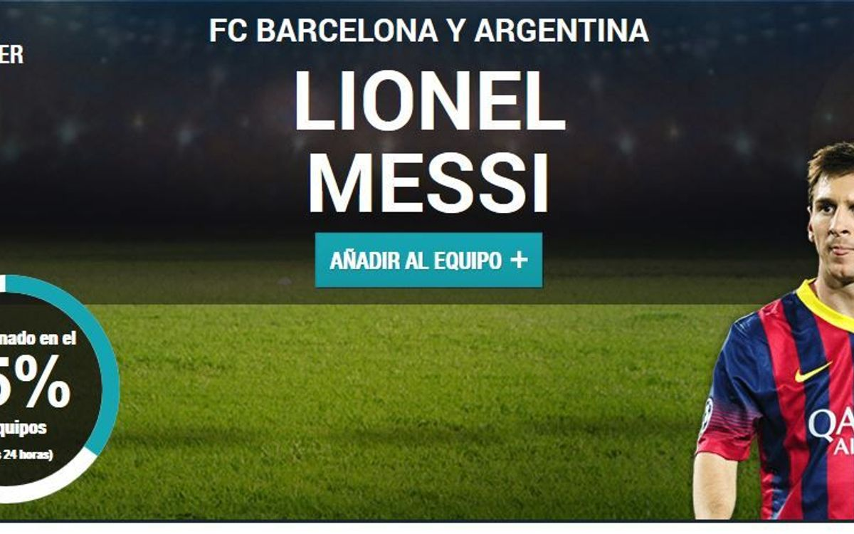 Vote for Messi and Piqué in the UEFA best team of the year