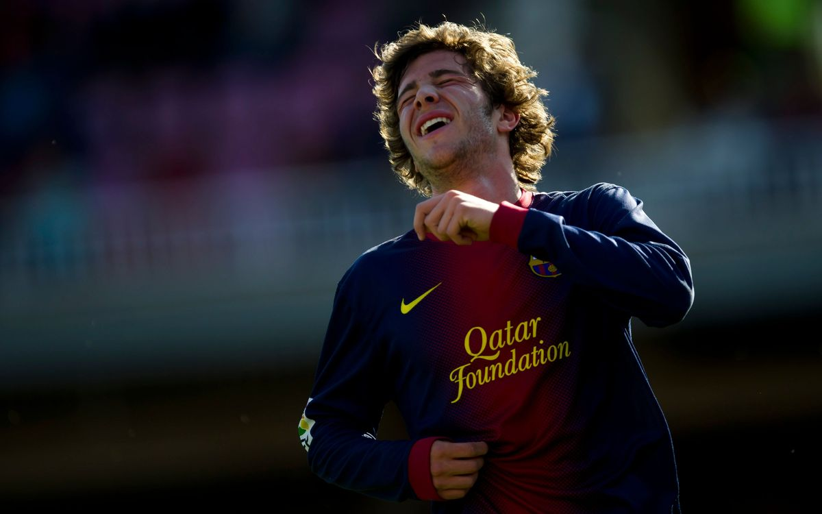 Sergi Roberto out of action for 7 to 10 days